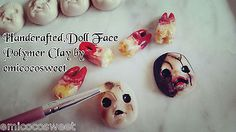 Creepy Baby Doll Face Necklaces,Victorian Gothic Necklaces,Gothic Punk Rock Emo