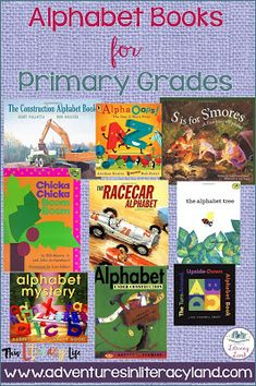 Alphabet Books for Primary Students Different Alphabets, Alphabet Books, Story Elements, Simple Pictures, Mentor Texts, Learning Letters, Student Learning, Lessons Learned, Vocabulary
