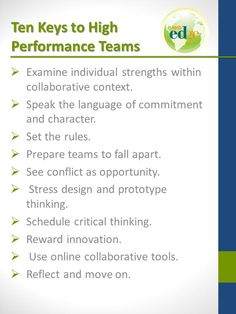 Tips on improving student group work by Thom Markham