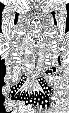 Doodle Godess by on DeviantArt Social Community, Doodles, Artist, Artists, Donut Tower, Amen, Doodle Art, Doodle, Zentangle