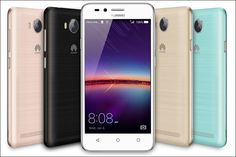 Smartphones Huawei Y5 II and Y3 II will be Released in Versions 3G and 4G