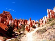 #Beauty of #Bryce #Canyon #National #Park in the #UnitedStates during #Hiking - more on www.travel-photographs.net