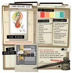 Case File No. 118 {Case closes on April 20, 2014} - CSI: Color, Stories, Inspiration