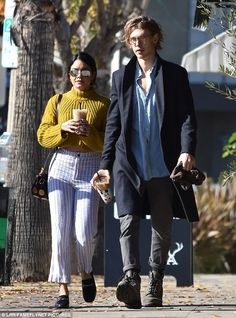 Coffee date! Vanessa Hudgens and her boyfriend Austin Butler grabbed coffee in Studio City on New Year's Day