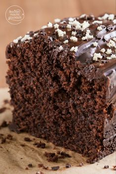 Simple juicy chocolate cake for every occasion www.backenmachtgl The post Simple juicy chocolate cake Baking makes you happy appeared first on Dessert Factory. Baking Recipes, Cookie Recipes, Dessert Recipes, Cupcake Recipes, Food Cakes, Cupcakes, Quick Chocolate Cake, Gateaux Cake, Cookies Et Biscuits