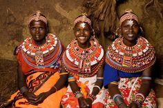Samburu tribe. Kenya. The source and inspiration for so many tribal designs.