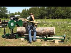 HM 126 Scierie Mobile | Woodland Mills Build your own house with your own lumber