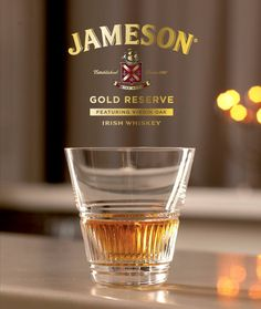 Is Jameson Gold Reserve best neat or with ice? You decide! Jameson Irish Whiskey, Bourbon Whiskey, Whisky, Omaha Steaks, Gold Reserve, Really Good Stuff, Irish Traditions, Irish Eyes, Mixed Drinks