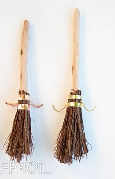 EPBOT: DIY Harry Potter Quidditch Broom Ornaments