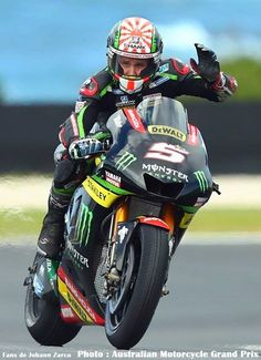 Zarco you are too much faster but you so late 2018 F i Land  GOGO