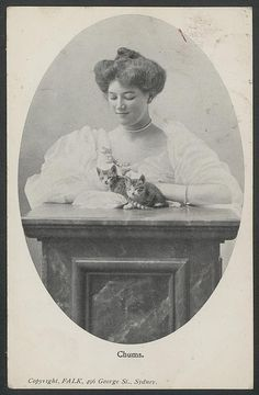 Woman and cats, 1906 | Flickr – Compartilhamento de fotos!
