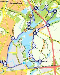 Fiets vanmiddag de Fortenroute Spaarndam (22,5 km) en stempel drie Stampions! Routenl
