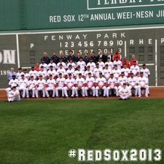 My 2013 Red Sox team!