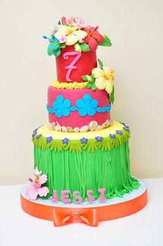 Hawaiian Cake  Cake by MyTeaCakes