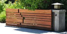 Custom fence design (Sunshine Coast fence and gate builder), Sunshine Living Builders work with a range of products such as timber and stone.