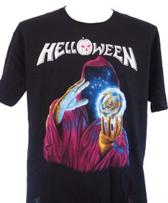 Brand:Anvil - Front Print: Yes - Back Print: No HELLOWEEN is a German power metal band founded in 1984 in Hamburg, Northern Germany. The band is a pioneering force in the power metal subgenres and their second and third studio albums, Keeper of the Seven Keys, Pt. 1 and Pt. 2, are considered masterpieces of the genre. Twelve musicians have been a part of the band's line-up in its history, which has consisted of singer Andi Deris, guitarists Michael Weikath and Sascha Gerstner, bass guit…