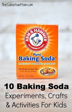 10 Baking Soda Experiments, Crafts And Activities For Kids | TheSuburbanMom
