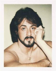 Sylvester Stallone Polaroid Portraits by Andy Warhol Sylvester Stallone, Jamie Wyeth, Andy Warhol Photography, Film Photography, Photography Ideas, Jean Michel Basquiat, Keith Haring, Madonna, James Rosenquist