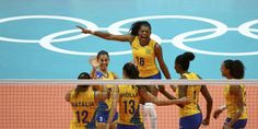 Essas meninas BRILHAM! Brasil destrói Japão em vôlei feminino