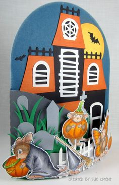 Sue's Stamping Stuff: A Spooky Meece card!