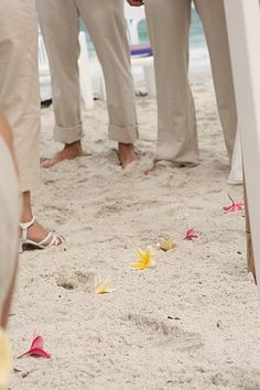Beach Weddings - my new favorite location.