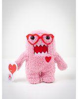 """Domo 7"""" Pink Heart Plush"""