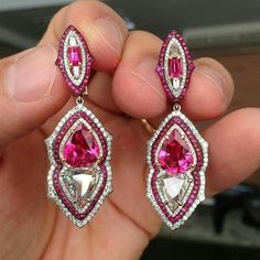 @legendaryjewelry. Precious Earrings