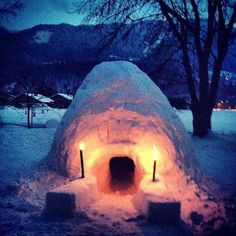 Two years ago we went skiing with friends in #Samouens, France. One of the kids had the idea to build an igloo in our the backyard. It took six adults and two kids four evenings to build it. Who knows how we had the energy that do this after full days of skiing. @cntraveler #cntakeover @amandacbrooks