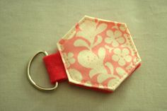 Hexi Key Ring! #PaperPieces