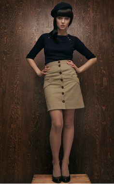 belle paris skirt and tam