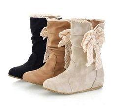 Arollo Overknees على تويتر: AROLLO Low Heel Overknee Boots