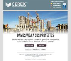 Maquetación/Programación Para: MadridNYC Cliente: CEREX