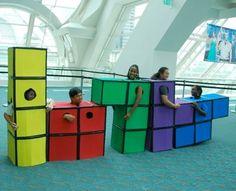 Tetris, video games costume