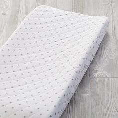 Go Lightly Changing Pad Cover (Grey Dot)  | The Land of Nod