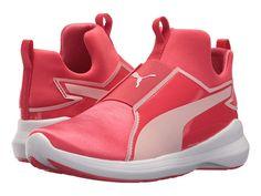 Puma Kids Rebel Mid Satin (Big Kid) Girls Shoes Paradise Pink Pearl b917424b6