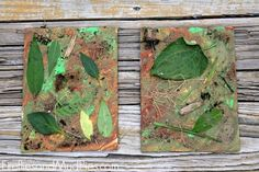 Camouflage Art - Fireflies and Mud Pies