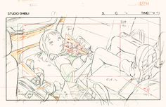 Ghibli Layout Designs