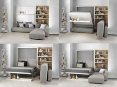 Discover thousands of images about Resource Furniture. Innovative furniture for small apartments Small Apartment Furniture, Space Saving Furniture, Living Room Furniture, Furniture Mattress, Arrange Furniture, Foam Mattress, Apartment Living, Apartment Therapy, Tiny House Living