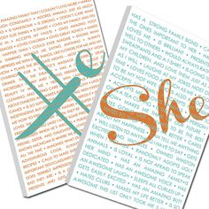 Wedding Sign She He Word Art wedding phrases art your love  Custom Canvas,-THIS listing is for TWO - 12x16  inches