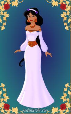 Disney Princess Jasmine wedding dress - Bing Images