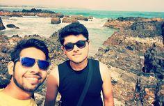 #goa #vagator #beach #sea #friends #holidays #travel #traveldiaries by vishal.chand24