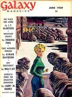 ED EMSHWILLER - art for Whatever Counts by Judith Merrill - June 1959 Galaxy Science Fiction