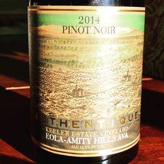 Nittany Epicurean: 2014 Authentique Wine Cellars Keeler Estate Vineyard Pinot Noir