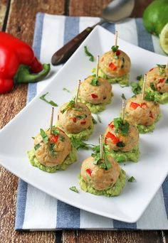 A #lowcarb take on Chili Lime Meatballs that everyone will love! Shared via http://www.ruled.me/