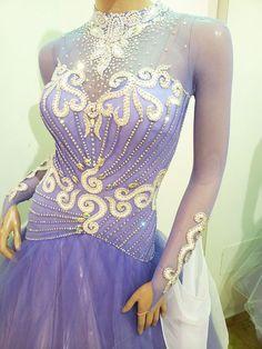 Latin Ballroom Dresses, Latin Dresses, Sexy Dresses, Open Dress, Figure Skating Dresses, Ballrooms, Costume Dress, Arabesque, Purple Dress