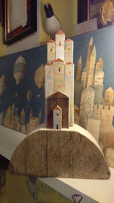 Paesino - Lavorazioni artigianali di Alessandro Pantani, Pantani Arte San Gimignano (Siena)