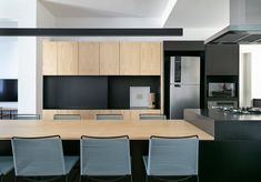 LDY Apartment by David Ito Arquitetura Modern Apartment Design, Gallery, Table, David, Furniture, Contemporary Kitchens, Home Decor, Brazil, Kitchen Small