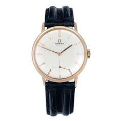 Omega Century 18ct rose gold via MarCels. Click on the image to see more!