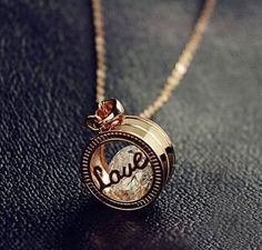I found 'Vancaro Women's Fashion Necklaces Lovely Exquisite Cutout Love Letter Ring Pendant Cubic Zirconia Alloy Plated Gold Necklace' on Wish, check it out! I Love Jewelry, Gold Jewelry, Jewelry Box, Jewelry Accessories, Jewelry Design, Jewlery, Initial Jewelry, Luxury Jewelry, Stone Jewelry