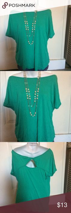 NWOT PLUS SIZE XXL teal off shoulder blouse Biaggi brand gorgeous NWOT plus size teal XXL 2XL off shoulder flowy short sleeve blouse. Stretchy soft breathable material. Has keyhole back perfect for any occasion. Tops Blouses